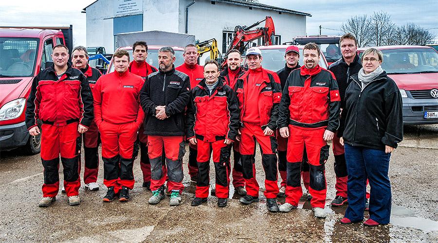 Tiefbaufirma Erfurt Weißensee Thüringen